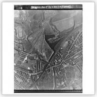 Aerial photograph of Newtown, Wigan, 1948