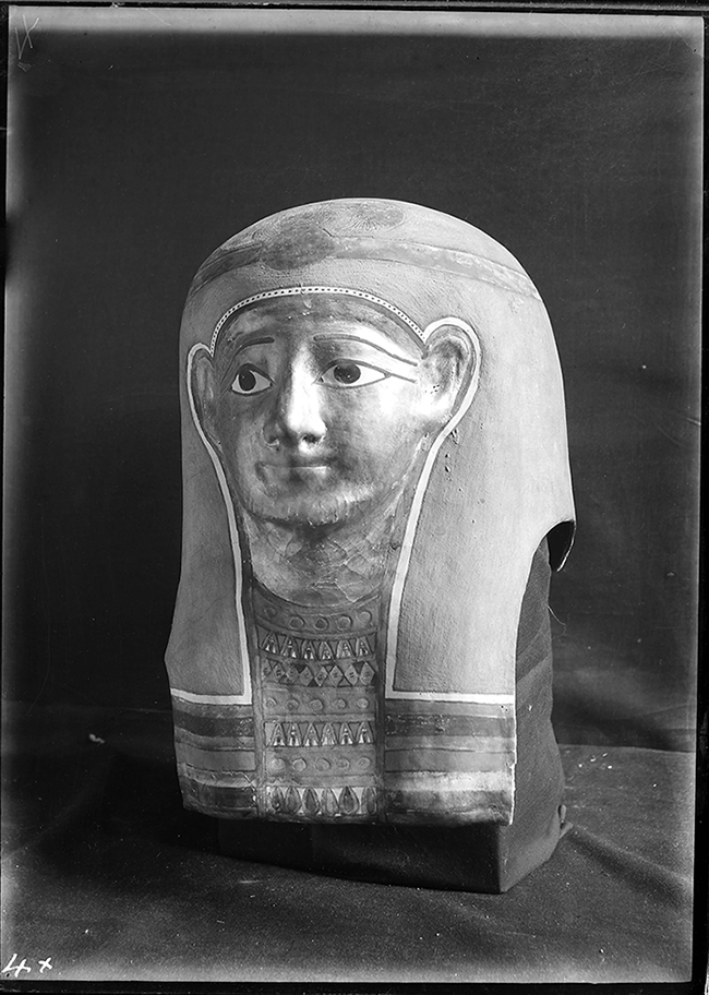 Glass plate image from Egypt Exploration Society digitisation project