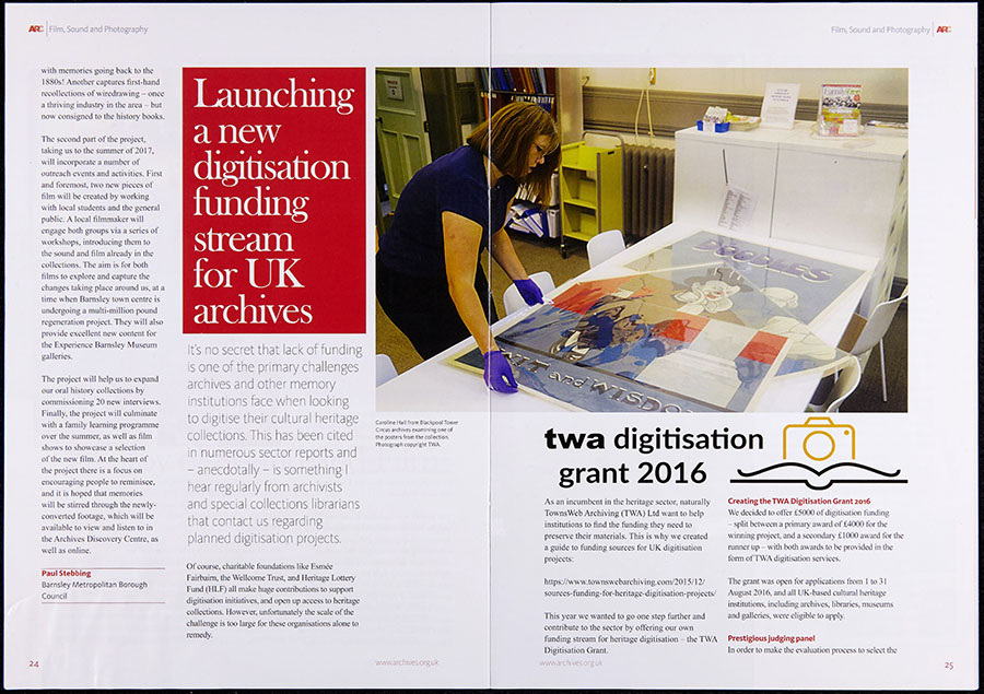 ARC-magazine-Feb-TWA-Digitisation-Grant-2016