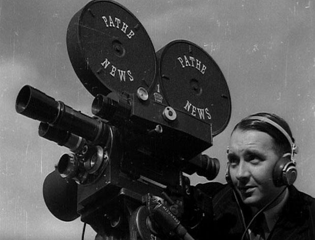 British Pathe archives - Cameraman digital image