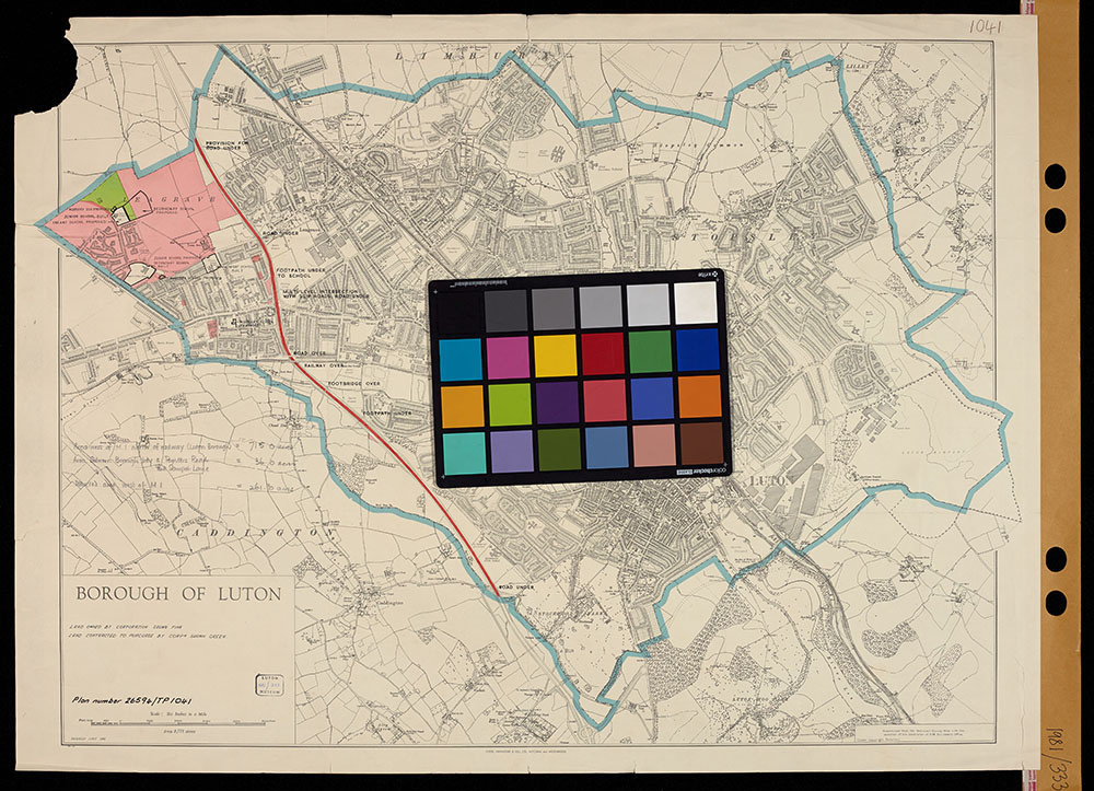 Calibrating_colour_before_digitising_A0_size_map