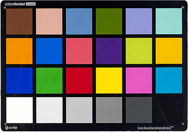 Colour Chart for digitisation