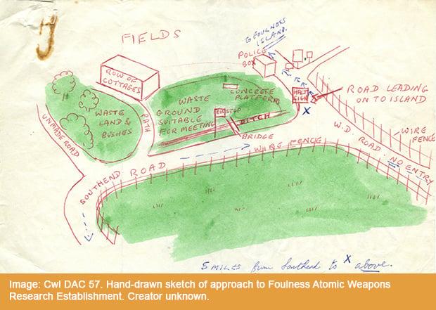 Cwl DAC 57 Foulness Atomic Weapons Research Establishment