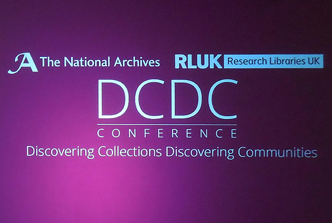 discovering_collections_discovering_communities_dcdc16_conference_opening_slide