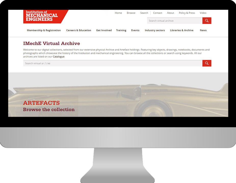IMechE-archive-homepage-PastView