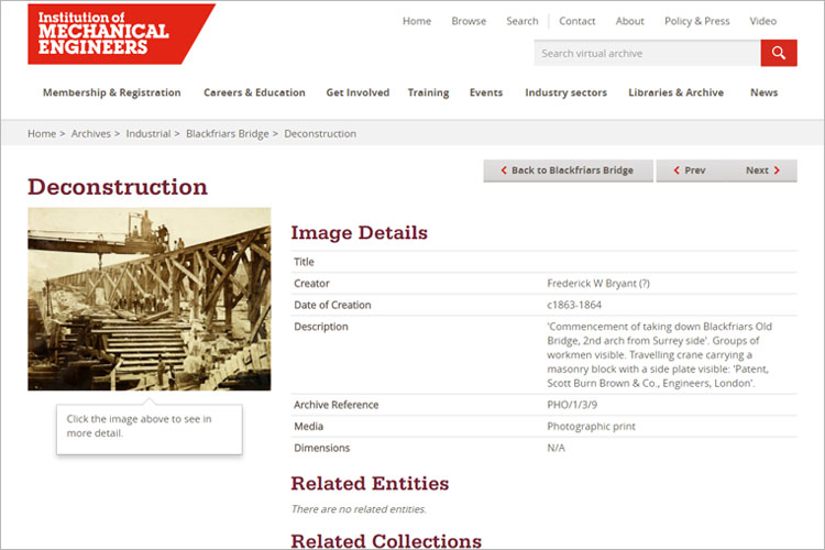 Institution_Mechanical_Engineers_virtual_archive_item_page