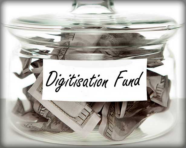 Funding for Digitisation projects jar