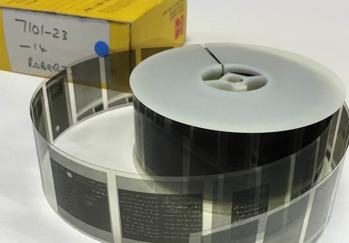 NAM microfilm reel holding a collection of papers of FM Lord Roberts, 1847(c)-1917(c).