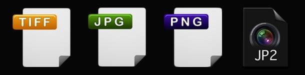 Output Formats for digitisation