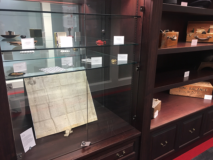 Peel_Group_Archives_display_cases