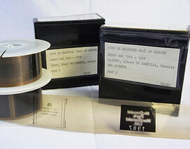 Digitised microfilm reels