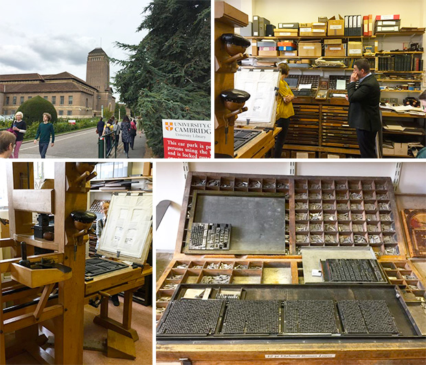 University Library, Cambridge, and historical printing room