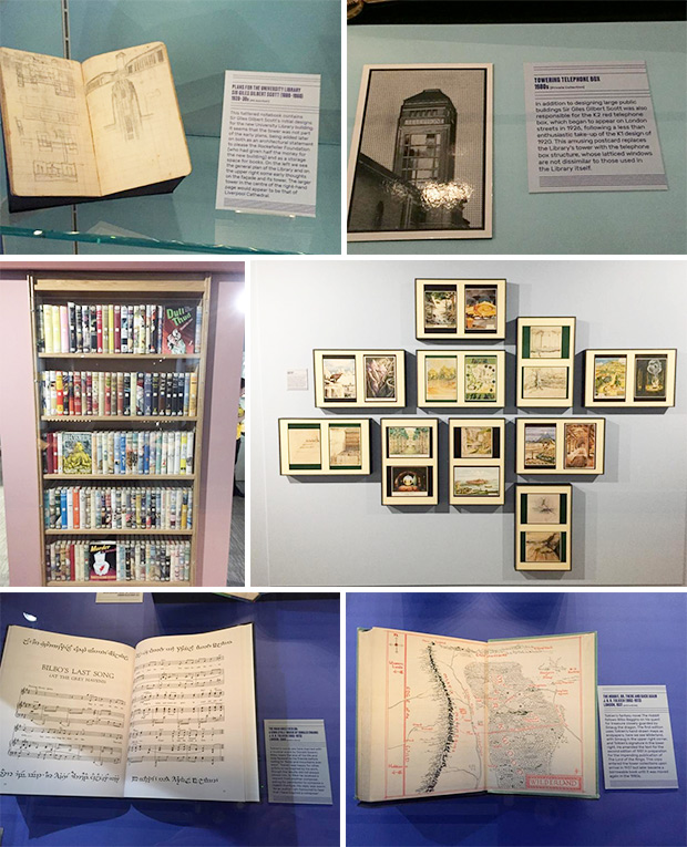 Tall Tales exhibition, University Library