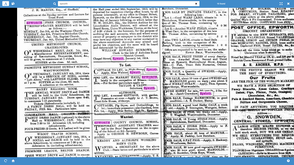 Page-Explorer-OCR-text-search-highlighting-PastView